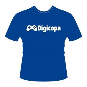 Camiseta DIGICOPA - PES2016-Azul-Frente