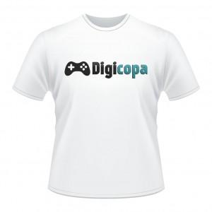Camiseta DIGICOPA - PES2016-Branca-Frente